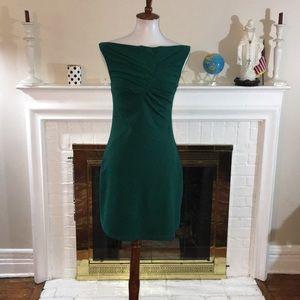 🌹Susana Monaco women's Hunter green dress Sz M🌹